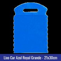 Lixo car TNT Azul Royal Grande 21x30cm - Ref 1028