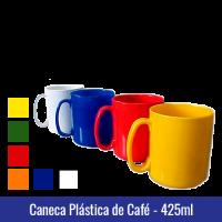 Caneca de café PLÁSTICO - 425ml - Ref. 1233 - 0,056gr.