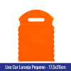 Lixo car TNT Laranja Pequeno 17,5x26cm - Ref 1026