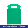 Lixo car TNT Verde Pequeno 17,5x26cm - Ref 1026