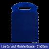 Lixo car TNT Azul Marinho Grande 21x30cm - Ref 1028