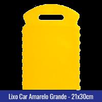 Lixo car Amarelo Grande 21x30cm - Ref 1028