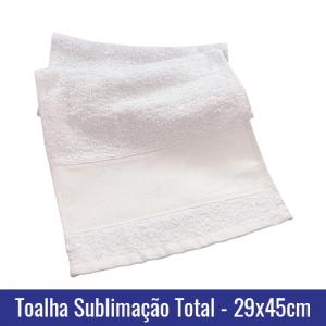 toalha lavabo sublimação total