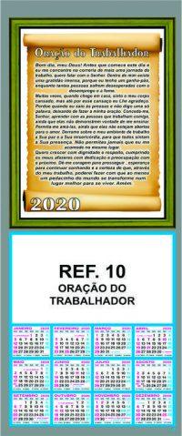 REF. 10 - ORAÇÃO DO TRABALHADOR