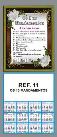 REF. 11 - OS 10 MANDAMENTOS