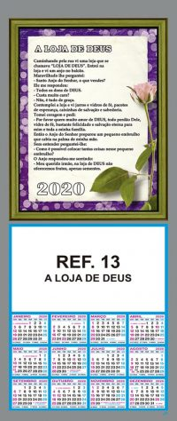 REF. 13 - A LOJA DE DEUS