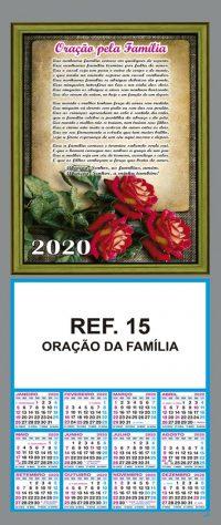 REF. 15 - ORAÇÃO DA FAMÍLIA