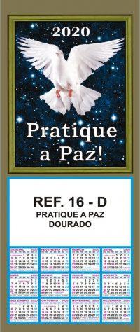 REF. 16-D - PRATIQUE A PAZ DOURADO