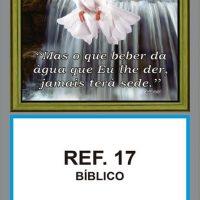 REF. 17 - BÍBLICO FOLHINHA METALIZADA