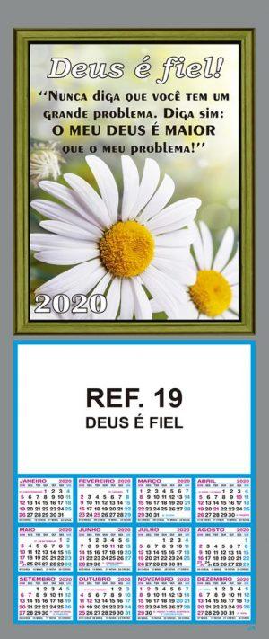 REF. 19 - DEUS É FIEL