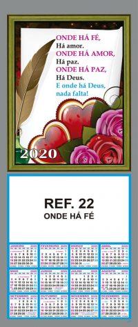 REF. 22 - ONDE HÁ FÉ