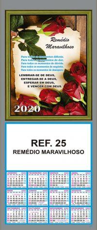 REF. 25 - REMÉDIO MARAVILHOSO