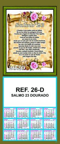 REF. 26-D - SALMO 23 - DOURADO