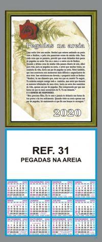 REF. 31 - PEGADAS NA AREIA