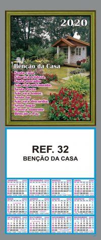 REF. 32 - BENÇÃO DA CASA
