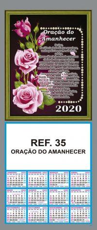 REF. 35 - ORAÇÃO DO AMANHECER