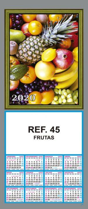 REF. 45 - FRUTAS FOLHINHA METALIZADA ALIANÇA