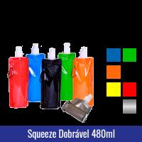 squeeze plastico dobravel 480ml