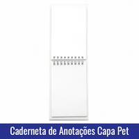 CADERNETA DE ANOTACOES CAPA PET PARA SUBLIMACAO interior