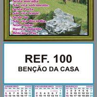 REF. 100 - BENÇÃO DA CASA FOLHINHA METALIZADA