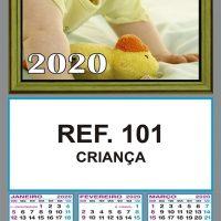 REF. 101 - CRIANÇA FOLHINHA METALIZADA