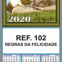 REGRAS DA FELICIDADE FOLHINHAS METALIZADAS ALIANÇA