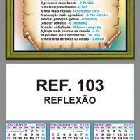REFLEXÃO - REF. 103 - FOLHINHA METALIZADA ALIANÇA