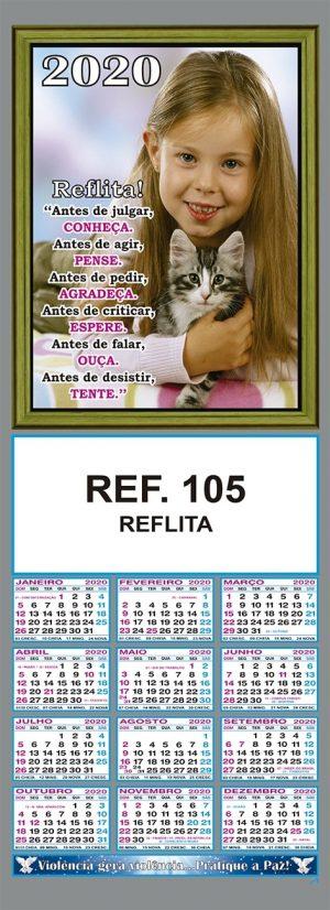 REFLITA FOLHINHA METALIZADA ALIANÇA REF. 105