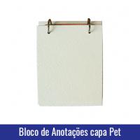 bloco de anotações capa pet sublimação