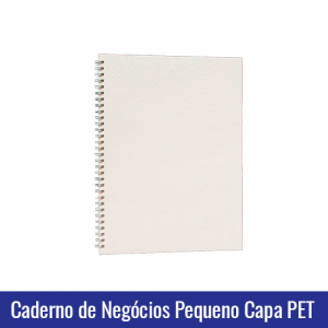 caderno de negocio agenda capa pet sublimação