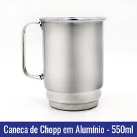Caneca chopp aluminio sublimacao