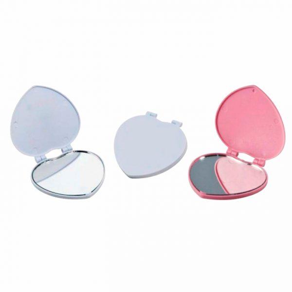 Espelho Plástico Coração REF. 1002637