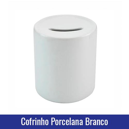 COFRINHO PORCELANA BRANCO SUBLIMACAO branco