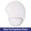 Mouse Pad BRANCO SUBLIMACAO Ergonomico 93362