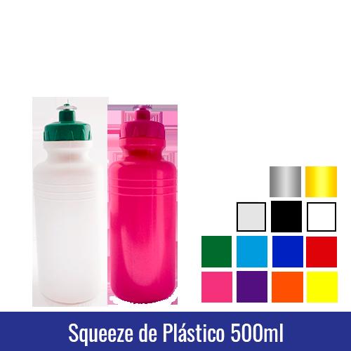 squeeze de plastico 500ml