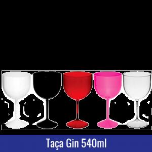 TAÇA DE GIN PLASTICO ACRILICO 540ML
