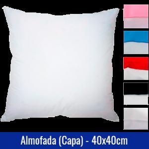 Capa almofada 40x40 sublimação cores