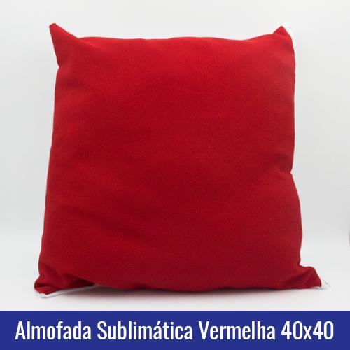 sublimatica vermelha 40x40
