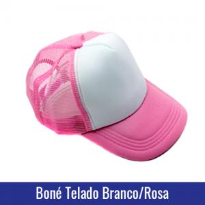 bone trucker para sublimação rosa