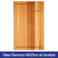 tabua madeira eucalipto churrasco carne