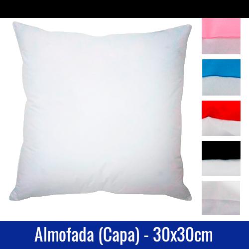 capa de almofada sublimatica 30x30cm cores