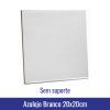 azulejo sublimação 20x20cm branco