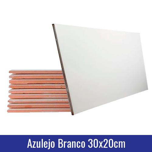 azulejo branco 30x20cm sublimação
