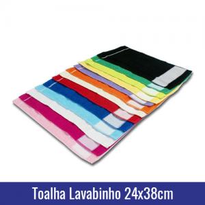 toalha lavabinho 24x98cm sublimação cores