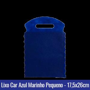 Lixo car TNT Azul Marinho Pequeno 17,5x26cm - Ref 1026
