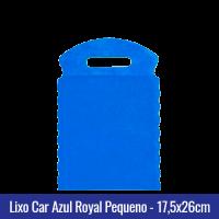 Lixo car TNT Azul Royal Pequeno 17,5x26cm - Ref 1026