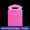 Lixo car TNT Rosa Pink Pequeno 17,5x26cm - Ref 1026