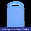 lixo car tnt azul bebe grande 21x30cm