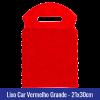 Lixo car TNT vermelho grande 21x30cm - Ref 1028
