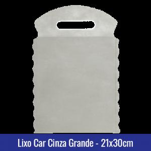 Lixo car TNT Azul Bebê Grande 21x30cm - Ref 1028
